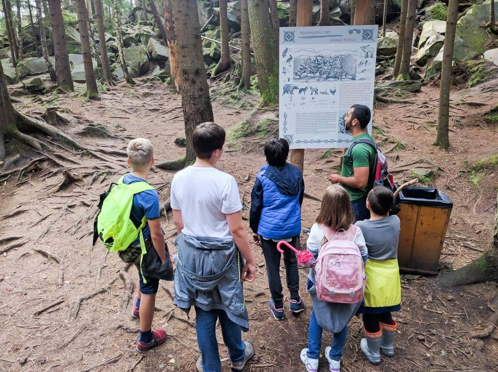 проектный лагерь в карпатах