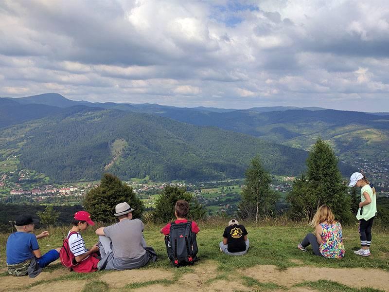 проектный лагерь в карпатах для детей и подростков