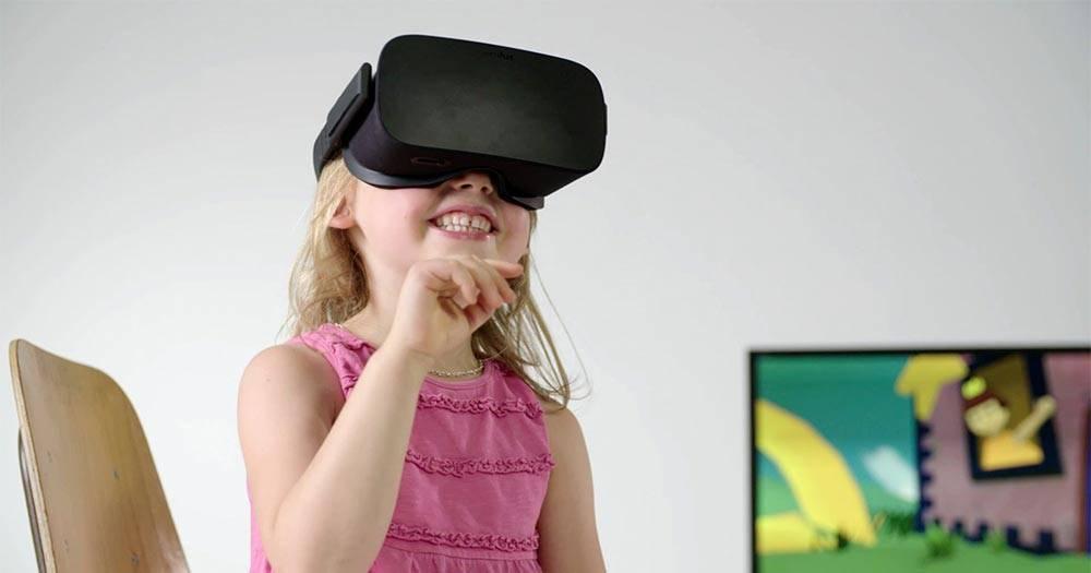 виртуальная реальность и дети